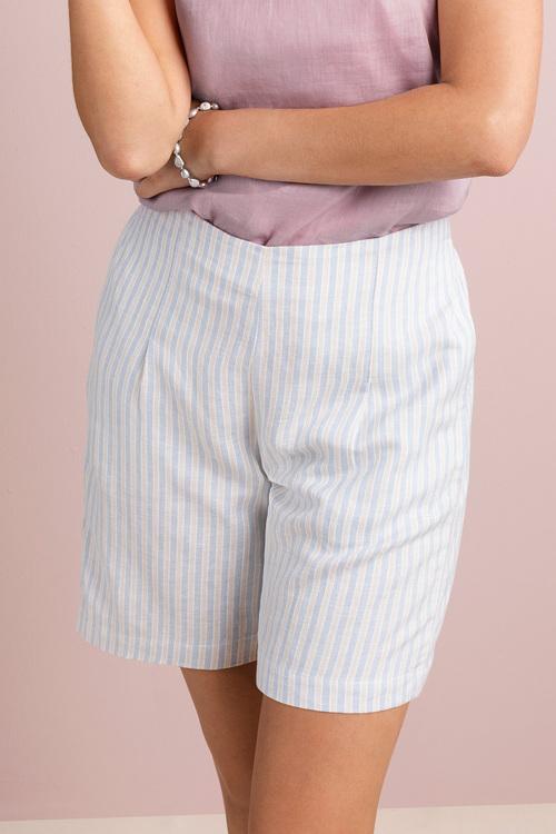 Grace Hill Linen Blend Shorts