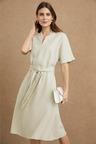 Grace Hill Linen Swing Dress