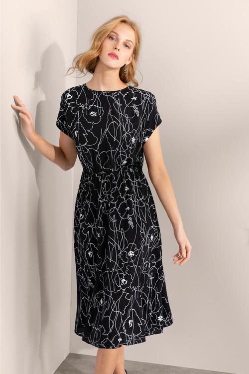 Grace Hill Gather Waist Dress
