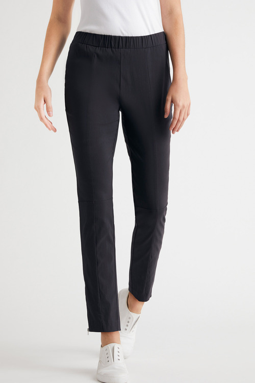 Capture Bengaline Zip Detail Pants