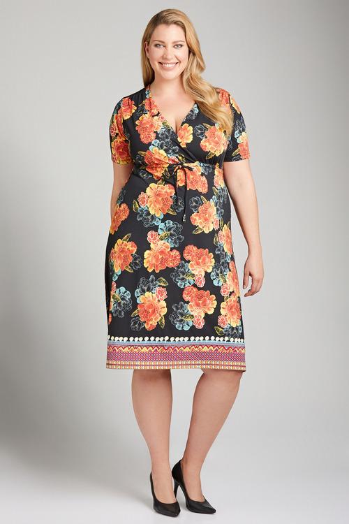 Plus Size - Sara Crossover Sundress