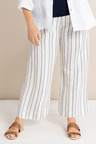 Plus Size - Sara Stripe Wide Leg Pants