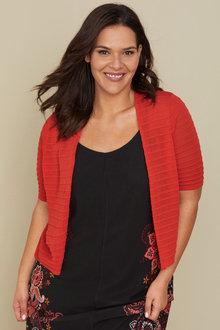 Sara Self Stripe Cardi - 235974