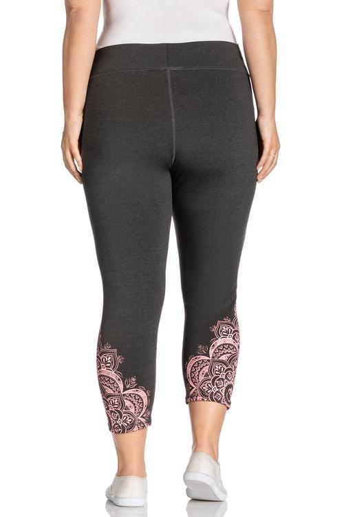 Plus Size - Sara Print Active Leggings