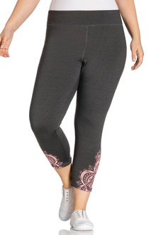 Plus Size - Sara Print Active Leggings