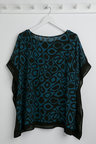 Plus Size - Sara Abstract Top