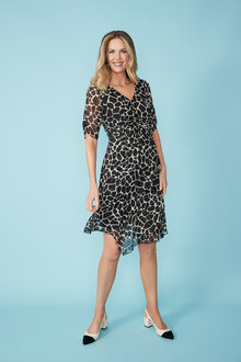 Simply You Silk Ruched Dress - 235997