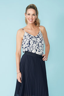 Simply You Silk Cami - 235998