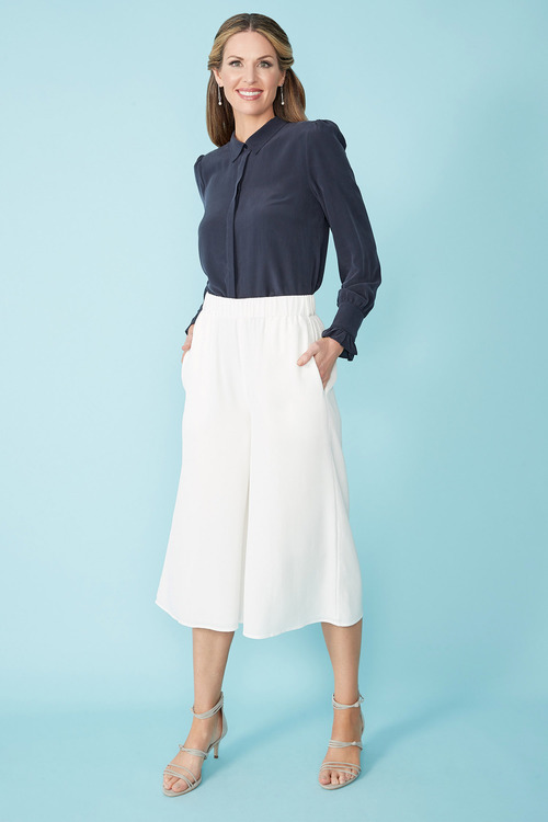Simply You Silk Culottes