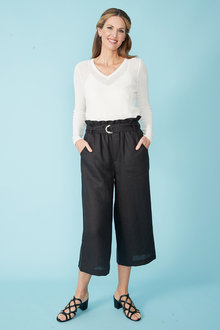 Simply You Linen Cotton Sweater - 236009