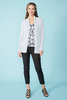 Simply You Linen Cotton Cardigan - 236010