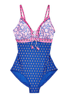 Next Spliced Swimsuit