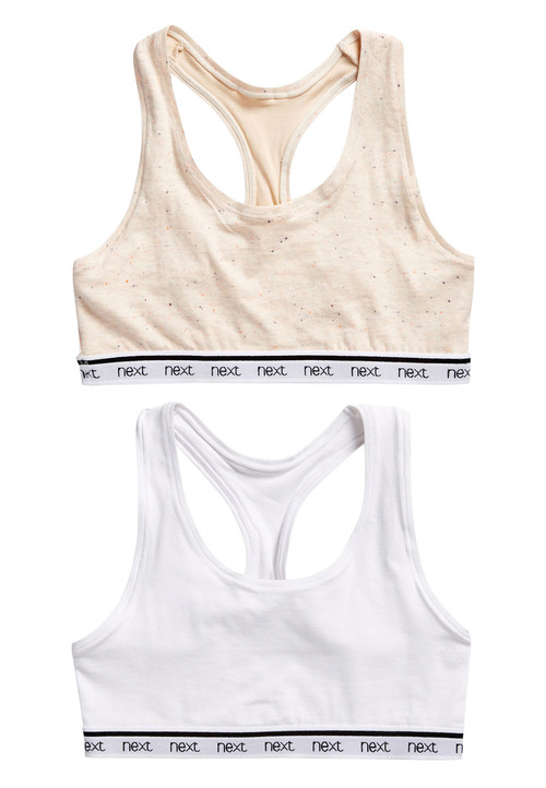 Next Daisy Crop Tops Two Pack