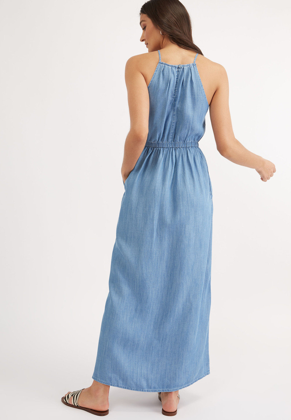 Next Tencel Maxi Dress Online | Shop EziBuy