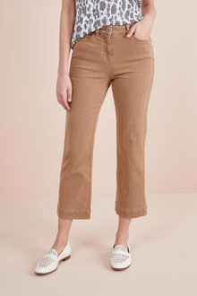 Next Cropped Flare Jeans