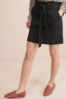 Next Utility Denim Mini Skirt
