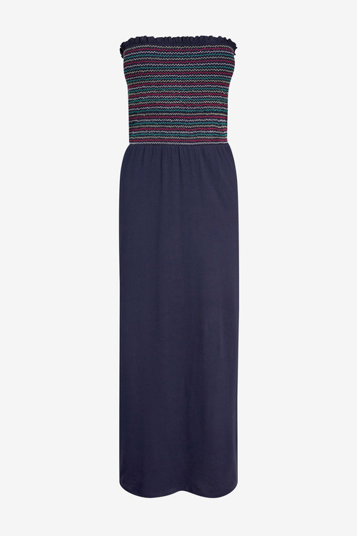 Next Shirred Boobtube Maxi Dress