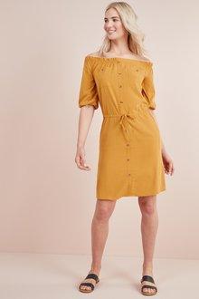 Next Utility Bardot Dress