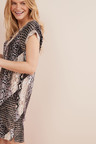 Next Woven Boxy T-Shirt Dress