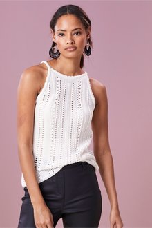 Next Crochet Look Vest