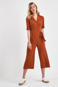 Next Culotte Button Jumpsuit - 236195