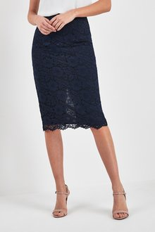 Next Lace Pencil Skirt