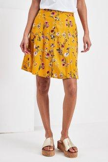 Next Floral Print Skirt