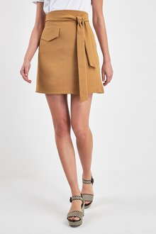 Next Utility Pocket Belted Mini Skirt