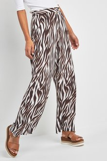 Next Zebra Print Utility Trousers
