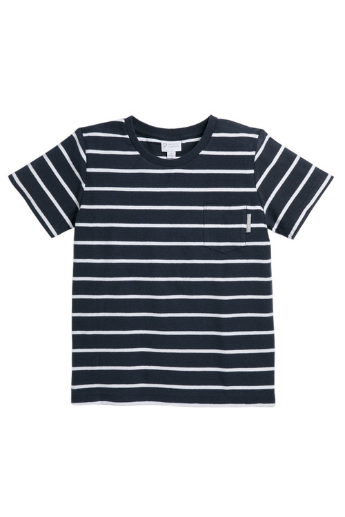 Pumpkin Patch Reverse Stripe Tee