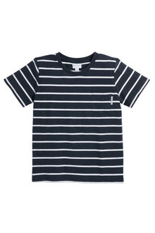 Pumpkin Patch Reverse Stripe Tee - 236222