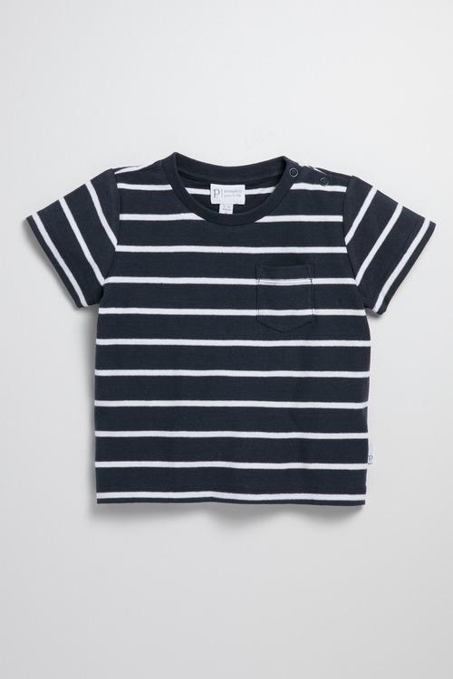 Pumpkin Patch Infants Reverse Stripe Tee