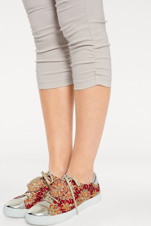 Heine Cropped Ruched Pants