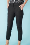 Simply You Linen Blend Tapered Pants