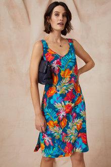 Grace Hill Silk Tank Dress - 236244