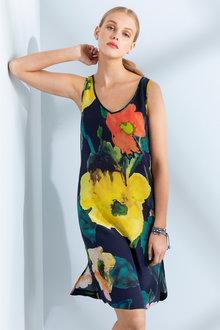 Grace Hill Silk Tank Dress