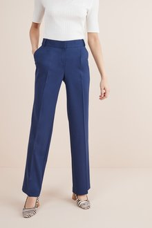 Next Tailored Wide Leg Trousers