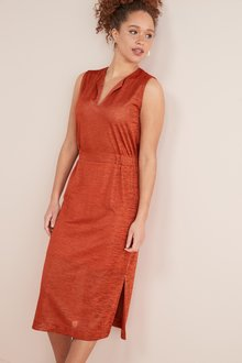 Next Ruched Jersey Midi Dress