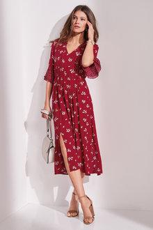 European Collection Split Detail Dress - 236323