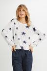 Emerge Star Print Sweater
