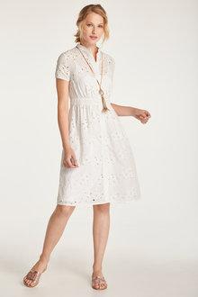 Heine Floral Broderie Dress - 236331