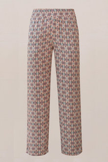 Euro Edit Printed Pants - 236340