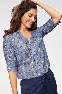 Urban Ditsy Floral Printed Shirt - 236342