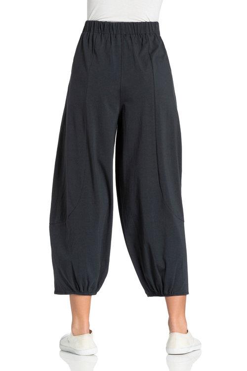 Emerge Panel Detail Crop Knit Pants