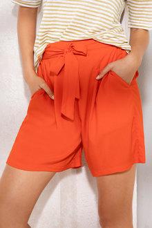 Emerge Tie Front Short