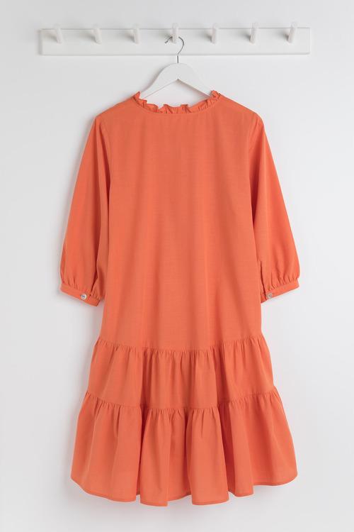 Capture Gather Detail Shift Dress