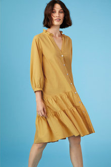 Capture Gather Detail Shift Dress