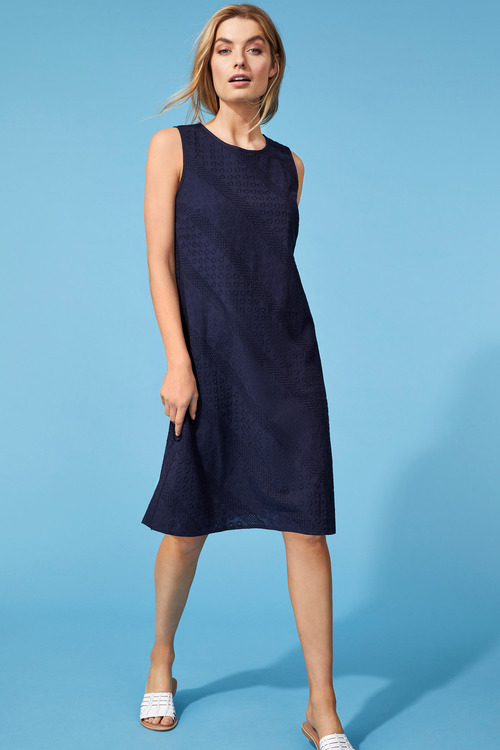 Capture Broderie Shift Dress