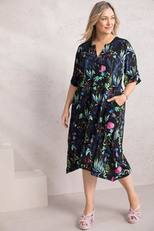 Plus Size - Sara Print Dress