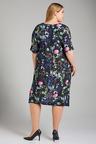 Plus Size - Sara Print Dress